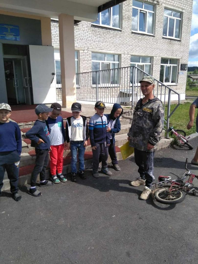 Школьникам о пожарной безопасности
